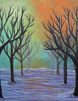 Winter Solitude 11 Poster by Jacqueline Athmann