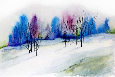 Winter Sorbet Poster by Lynne Furrer