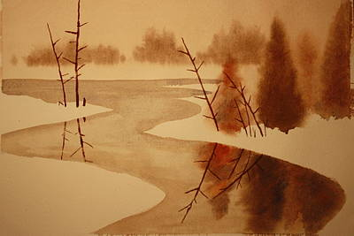 Winterbend Poster