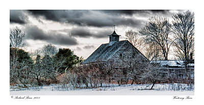 Wintering Barn Poster