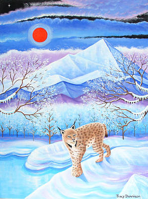 Winter's Eve Poster by Tracy Dennison