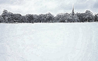 Winters Peace Poster by Steve K