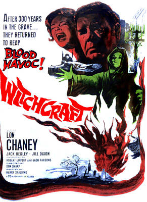 Witchcraft, From Left Jill Dixon, Lon Poster