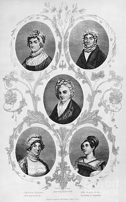 Wives Of Founding Fathers Poster by Granger