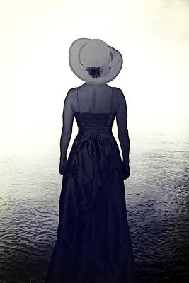 Woman At The Shore Poster