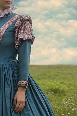Woman With Renaissance Dress Poster by Joana Kruse