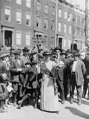 Women Identified As Mrs. Suffern Poster by Everett