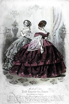 Womens Fashion, 1858 Poster