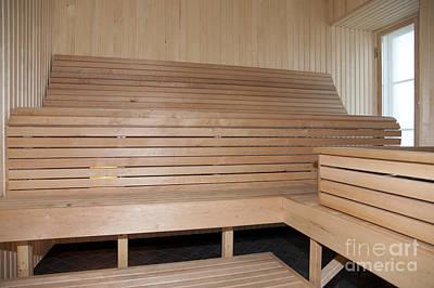 Wooden Sauna Poster by Jaak Nilson