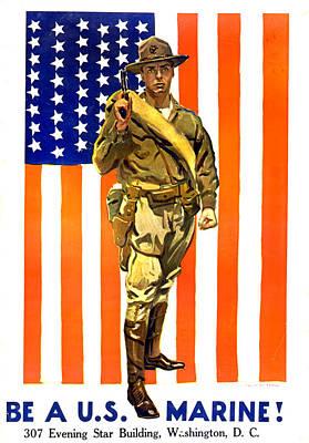 World War I, Recruitment Poster Poster by Everett