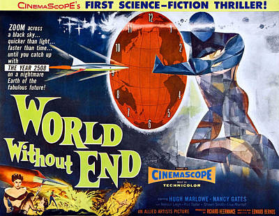 World Without End, Bottom Left Nancy Poster