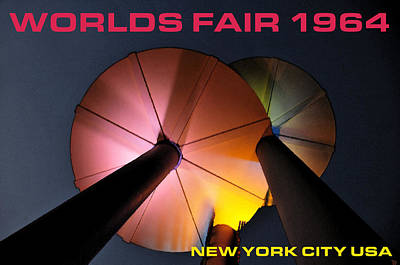 Worlds Fair 1964 New York City Usa Poster