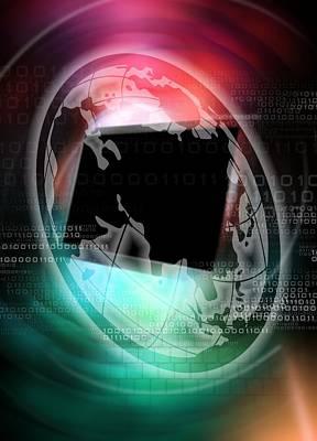 Worldwide Web, Conceptual Artwork Poster