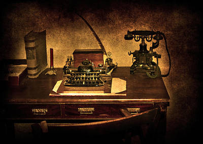 Writers Desk Poster