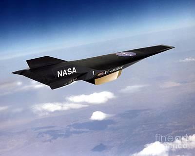 X-43a Aircraft Poster