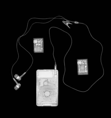 X-ray Of A Portable Audio Player Poster