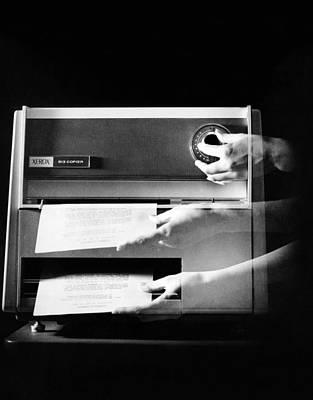 Xerox 813, The First Desktop Poster by Everett