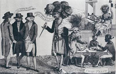 Xyz Affair Inspired This 1799 Cartoon Poster by Everett