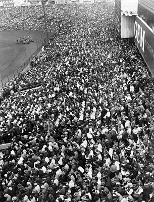 Yankee Stadium Bleachers, New York Poster by Everett