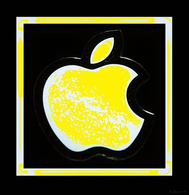 Yellow Apple Poster by Rob Hans