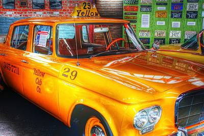 Yellow Cab No.29 Poster