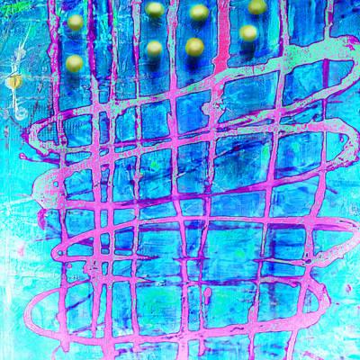 Yellow Dots Poster by Lolita Bronzini