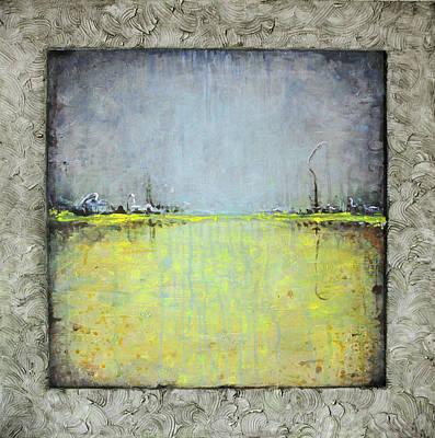 Yellow Field Poster by Lolita Bronzini