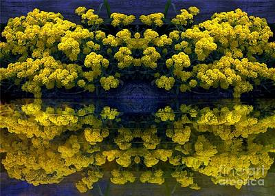 Yellow Flowers Poster by Dale   Ford