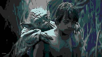Yoda Got Your Back Poster