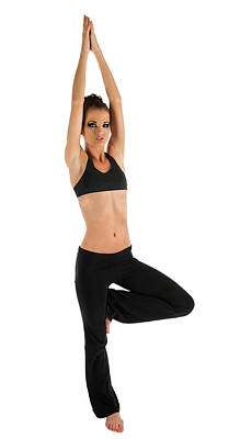 Yoga Pose Tree Poster