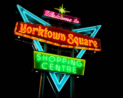 Yorktown Square Poster by Cale Best