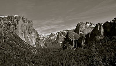 Poster featuring the photograph Yosemite Valley by Eric Tressler
