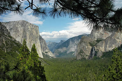 Poster featuring the photograph Yosemite's Tunnel View by Geraldine Alexander
