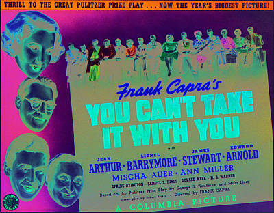 You Cant Take It With You, Jean Arthur Poster