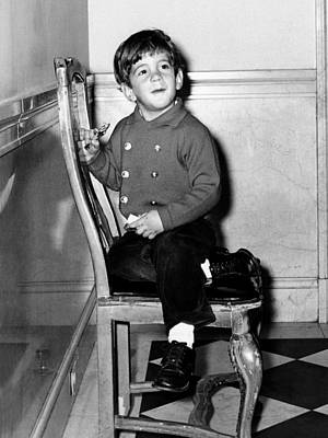 Young John F. Kennedy Jr. Nearing Poster by Everett