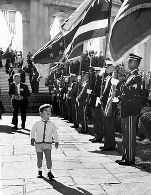 Young John Kennedy Jr., The Presidents Poster by Everett