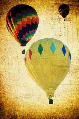 Your Balloon Ride Poster by James Bethanis
