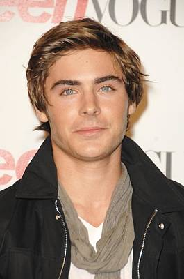 Zac Efron At Arrivals For Young Poster by Everett