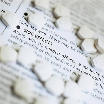 Zantac Pills Poster by Steve Horrell