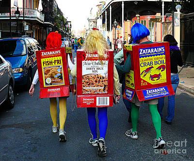 Zatarains Mardi Gras Poster