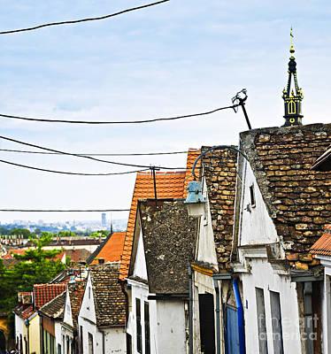 Zemun Rooftops In Belgrade Poster