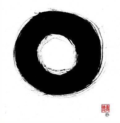 Zen Circle Seven Poster