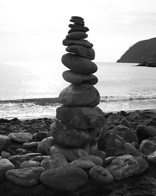 Zen Tower Poster by Ramona Johnston