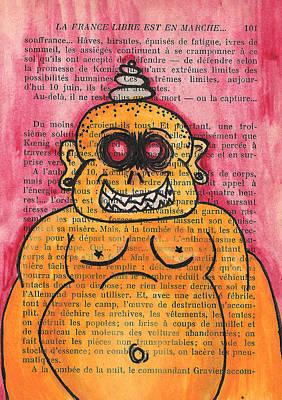 Zombie Buddha Poster by Jera Sky