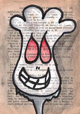 Zombie Cauliflower Poster by Jera Sky