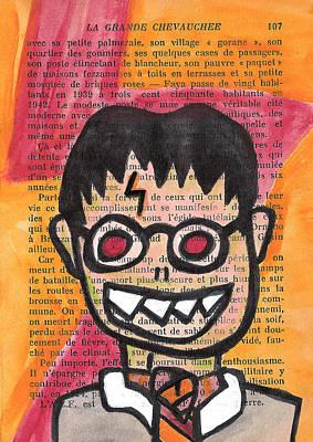 Zombie Harry Potter Poster by Jera Sky