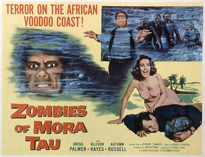 Zombies Of Mora-tau, Autumn Russell Poster