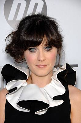 Zooey Deschanel At Arrivals For Our Poster by Everett