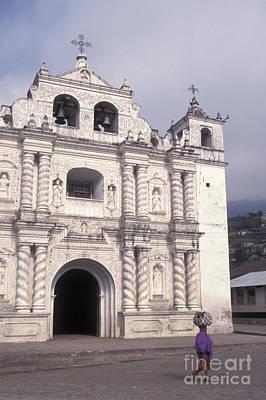 Poster featuring the photograph Zunil Church Guatemala by John  Mitchell