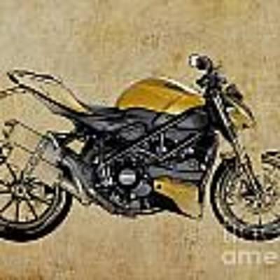 Ducati Streetfighter 848 2012 Poster